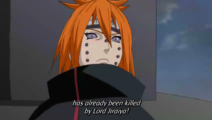 Criticism advise pain face naruto phrase your